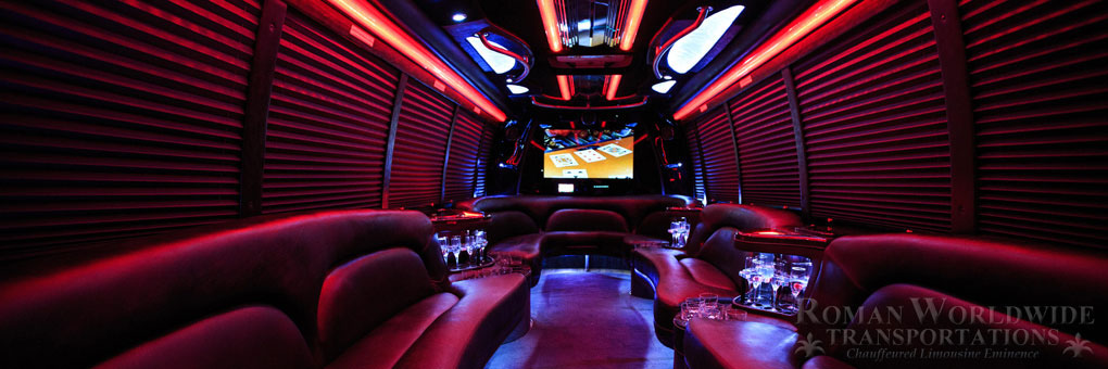 Limo Bus - Orange County