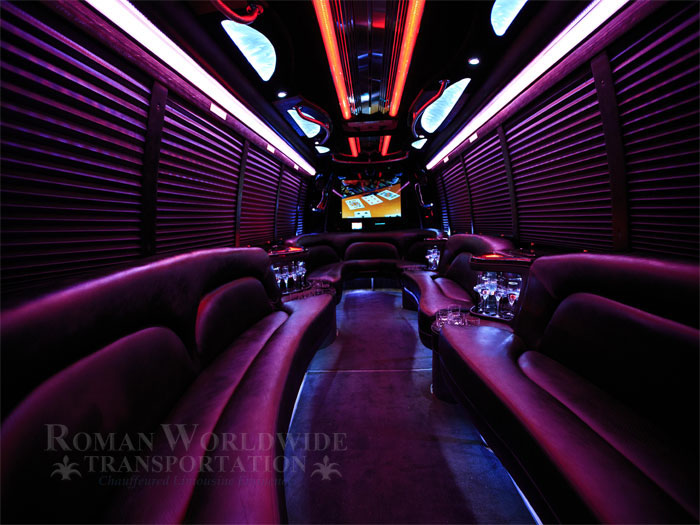 Corporate Limo Bus