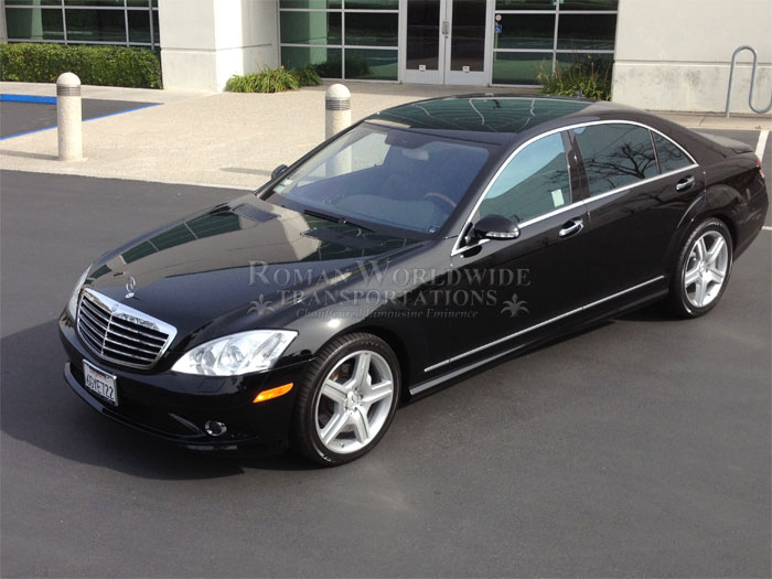 LAX Airport Transfer Mercedes Benz S550