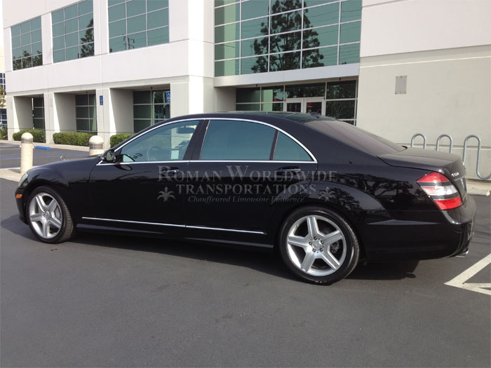 Mercedes S550 Limo