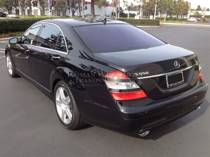 Mercedes Benz S550 Private Transportation Service